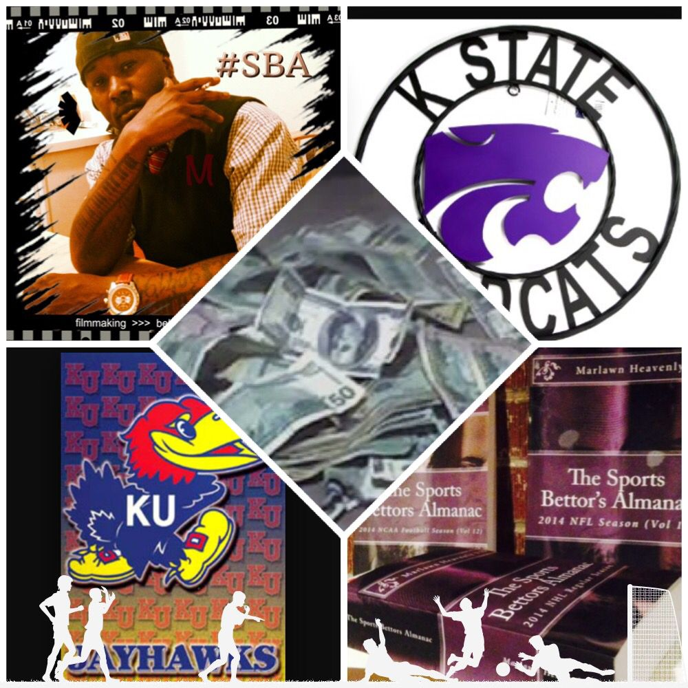 "2/23/15 NCAAB Sports Bettors Almanac Update: #Kansas #Jayhawks vs #KansasSt #Wildcats (Take: Wildcats +6.5) (THIS IS NOT A SPECIAL PICK ) ""The Sports Bettors Almanac"" SPORTS BETTING ADVICE  On  99% of regular season games ATS including Over/Under   1.) ""The Sports Bettors Almanac"" available at www.Amazon.com  2.) Check for updates   Marlawn Heavenly VII (SportyNerd@ymail.com)  #NFL #MLB #NHL #NBA #NCAAB #NCAAF #LasVegas #Football #Basketball #Baseball #Hockey #SBA"