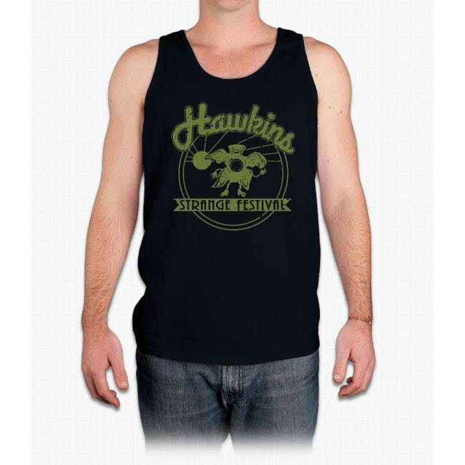 Hawkins Strange Festival Stranger Things - Mens Tank Top
