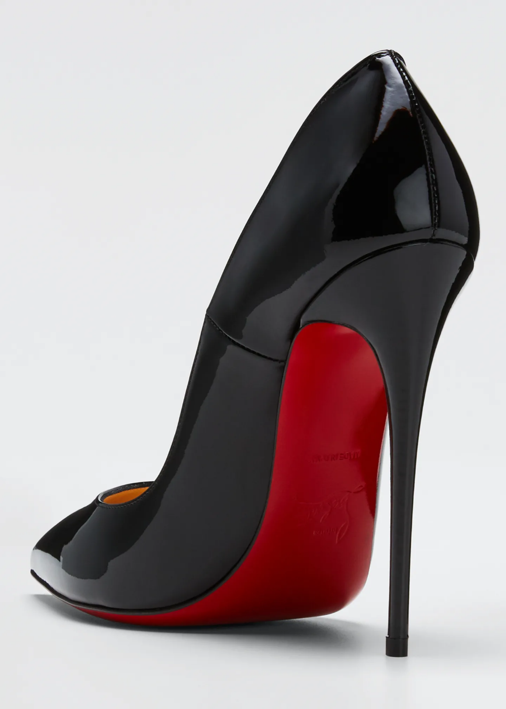 Christian Louboutin So Kate Patent Red