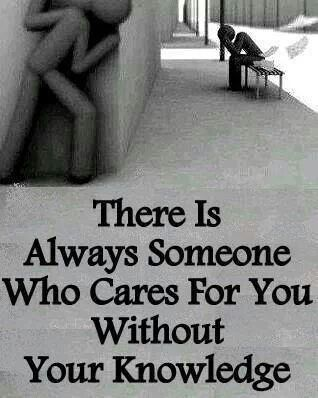 Whether You Believe In A Guardian Angel Think You Have A Secret Admirer Or You Just Have Amazing Heart Touching Love Quotes Inspirational Quotes Care Quotes