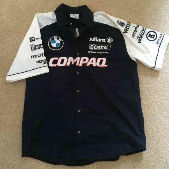 1f68ecb342d57 NWT Rare BMW F1 Shirt NWT rare BMW formula 1 pit crew collared shirt. Brand  new. BMW Tops Button Down Shirts