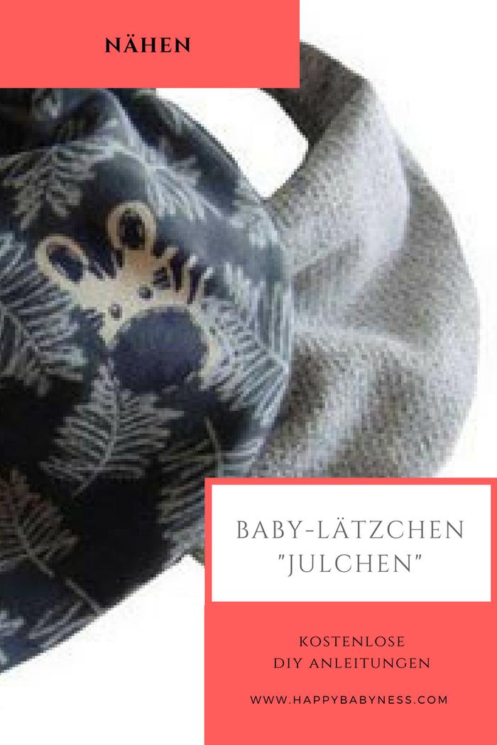 """BABY LÄTZCHEN """"JULCHEN"""" *** Kostenlose DIY Anleitungen   Nähen   Stoff   Baby & Kinder   Erstausstatung   Mode   happybabyness.com"""