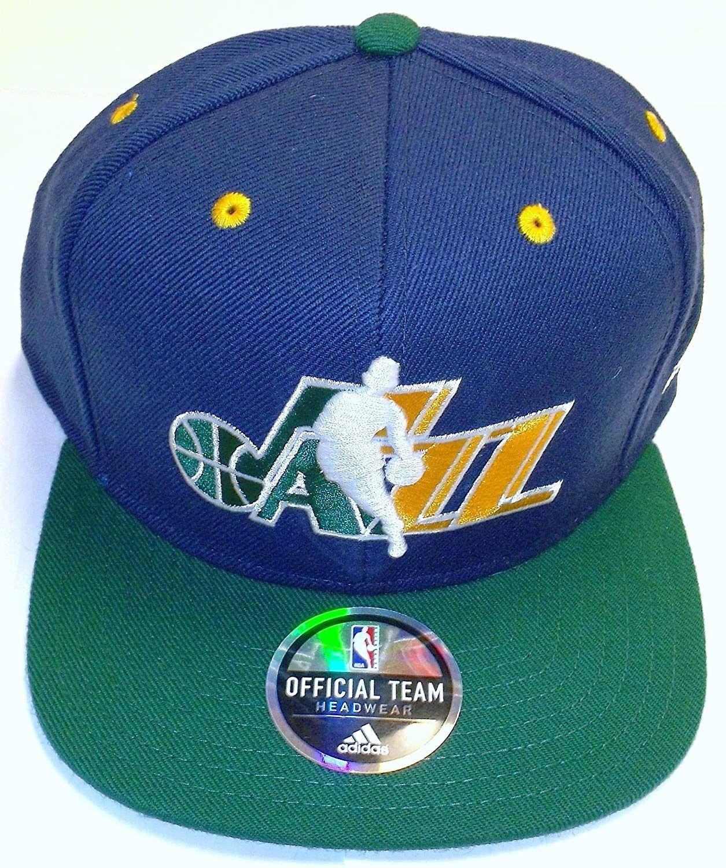promo code 56bb0 27e61 Utah Jazz Flat Bill Snapback Adidas Hat,  12.99