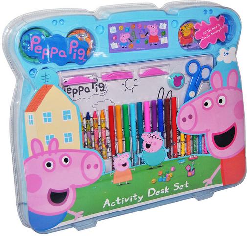 Juguetes De Peppa Pig Set De Dibujo Para Ninos De Peppa Pig Http Www Mibabyclub Com Tienda Juguetes Infantiles Juguetes Pep Desk Set Kids Toys Peppa Pig