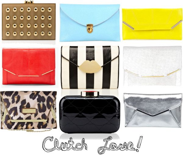 """""""Clutch Love"""" by vaneros on Polyvore"""