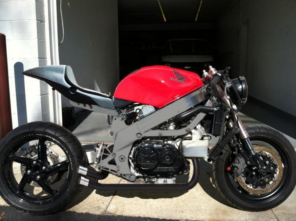 Vfr 800 Custom Built Repsol Themed Cafe Racer 8 • £1,510