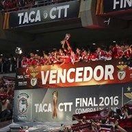 Águias reforçam estatuto de clube mais titulado em Portugal - Encarnados conquistaram o 78.º troféu no futebol