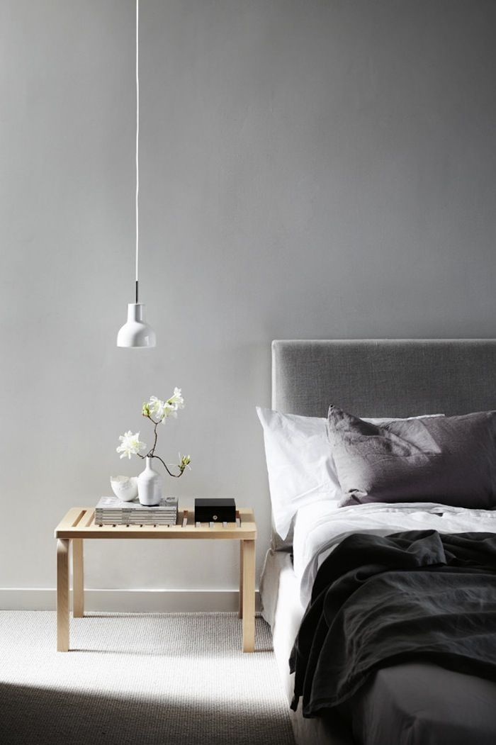 Low Hanging Pendant Lights As Bedside Lights Bedroom Interior