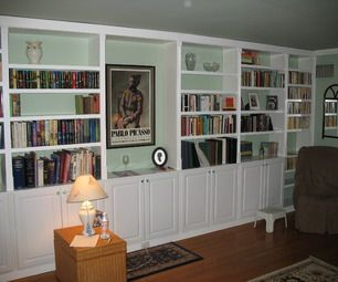 Built In Book Cases Built In Bookcase Bookcase Plans