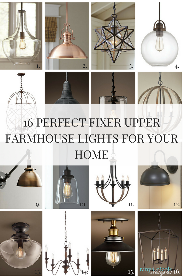 Farmhouse Style Light Fixtures A Home Just Wouldn T Be Complete Without The