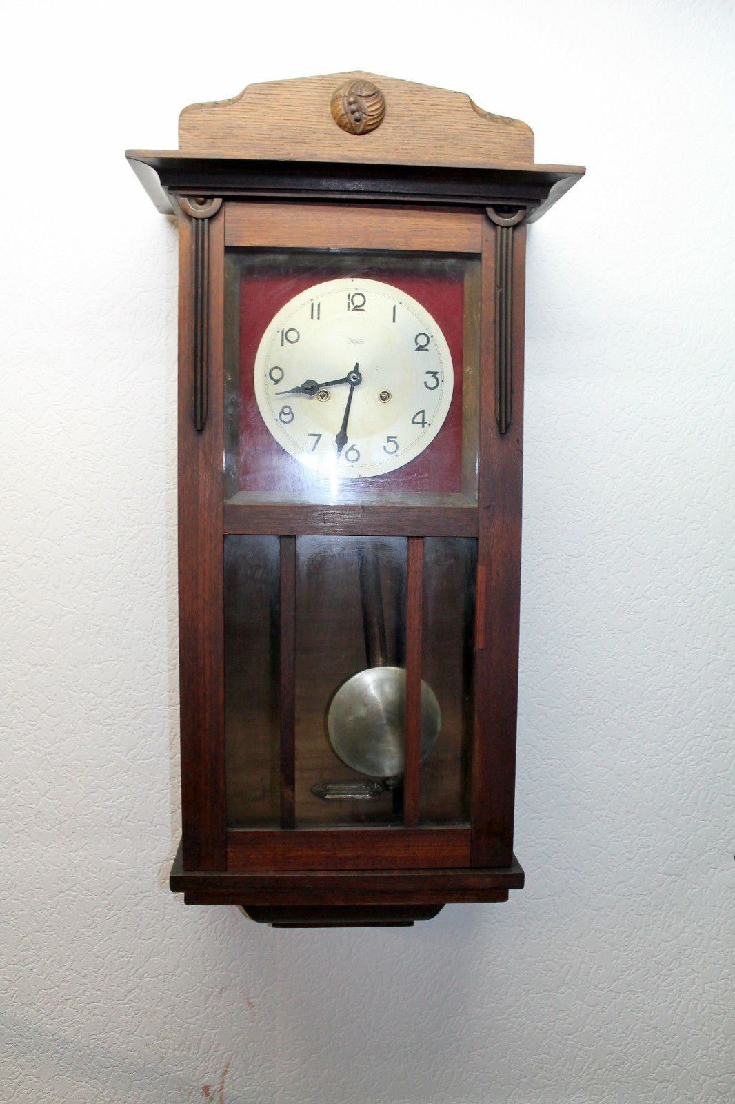 Antique Wall Clock Regulator Clock KIENZLE ZENTRA JUNGHANS