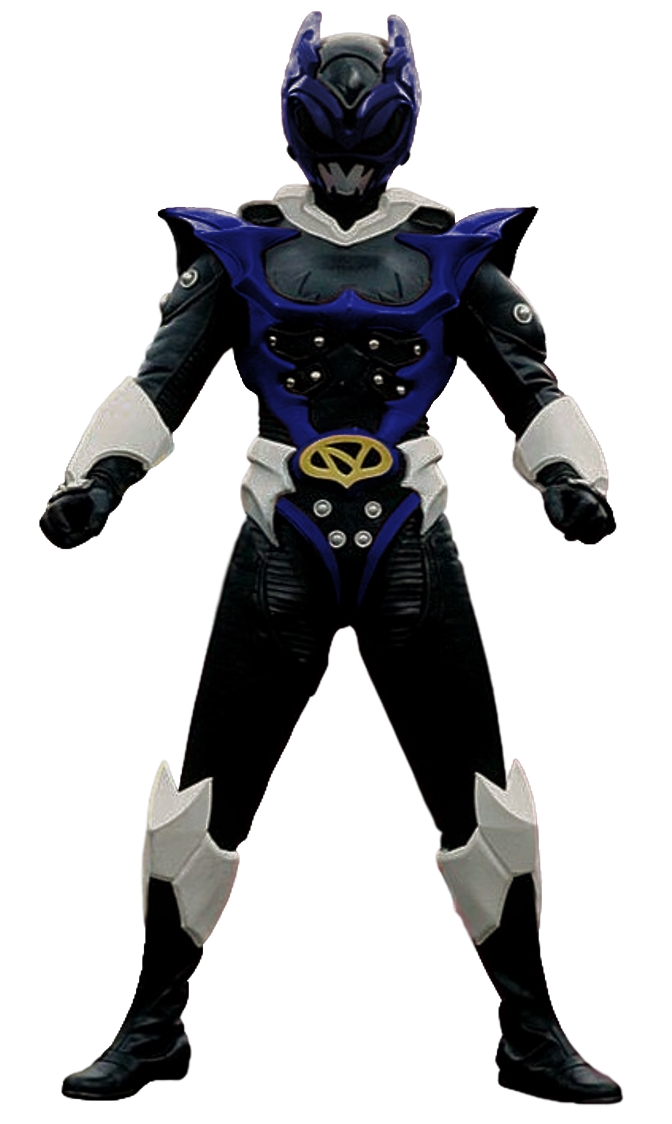 Psycho Blue Ranger Transparent! by CamoFlauge on