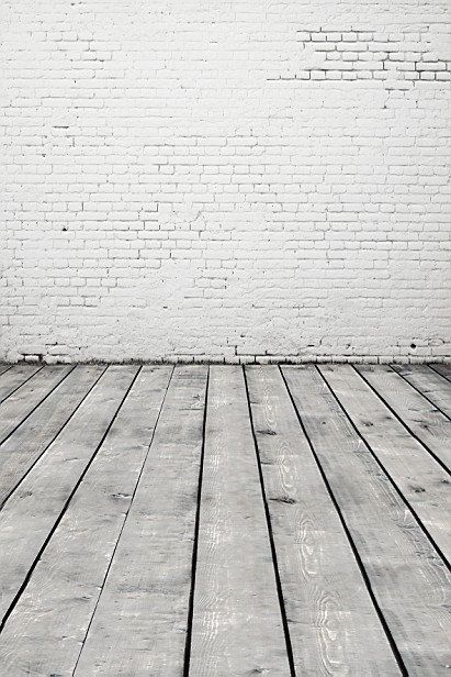 15x10ft Background Brick Wall Wood Floor Photography Backdrop Studio Photo Props FUSK003