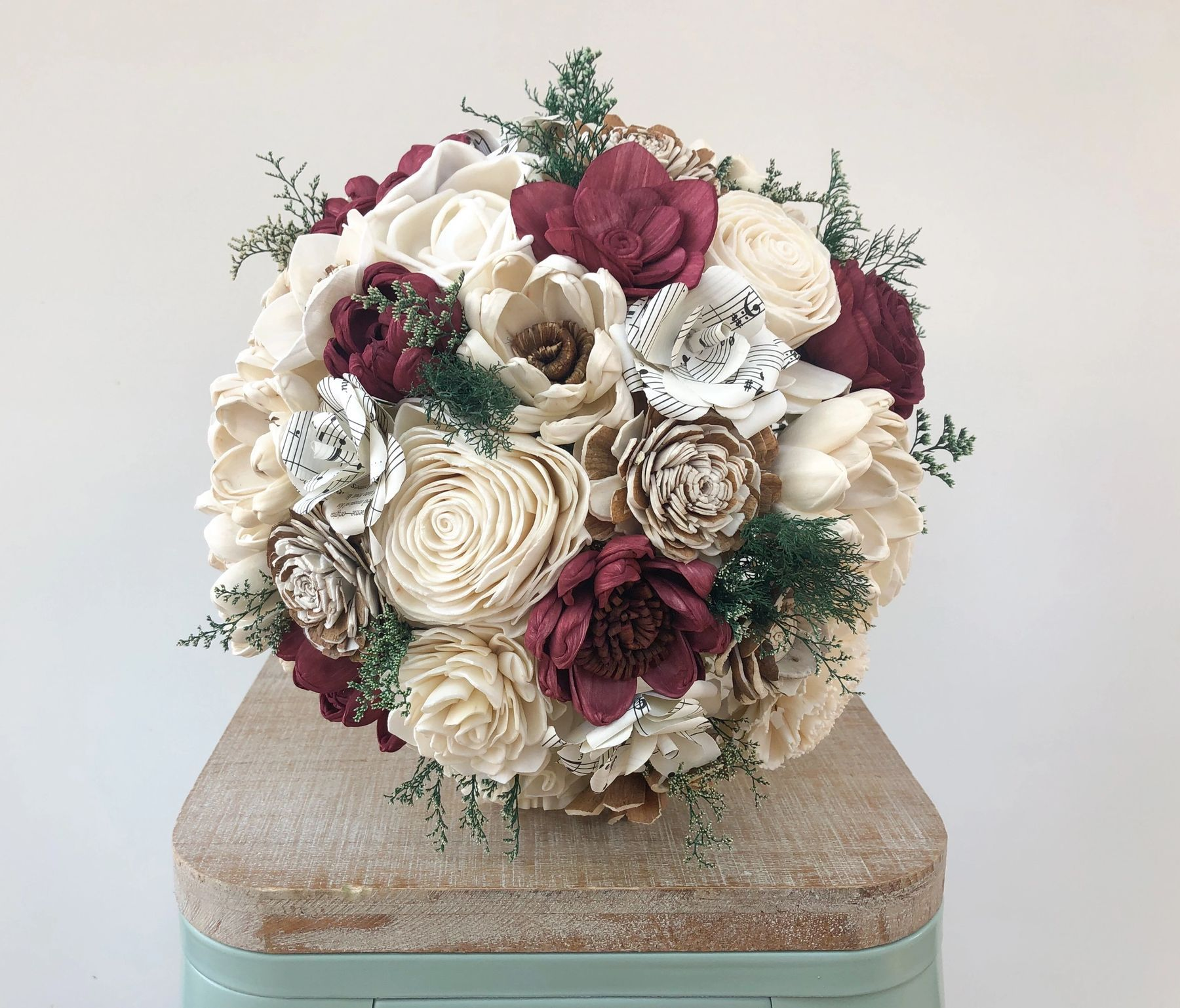 Wedding Bouquet Kits in 2020 Wood flower bouquet, Sola