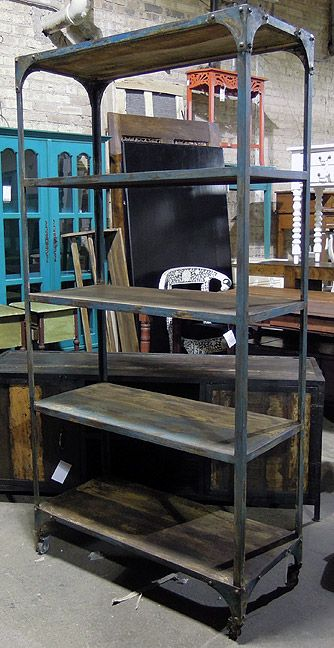 Bon Awesome Industrial Bookcase At Nadeau Dallas !