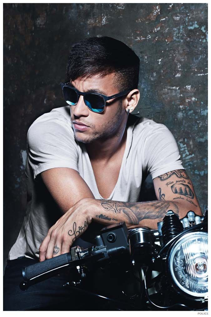 Flashback of Eyewear Advertising Campaign with Footballer Neymar Jr ... 62d6968eb9