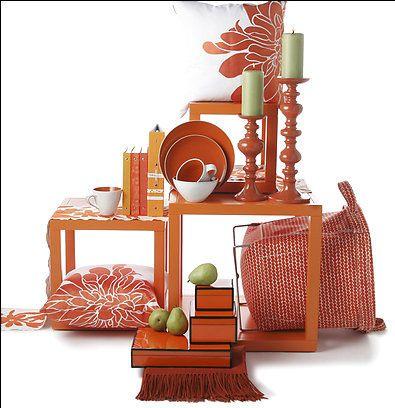 Orange Home Decor Accents Gorgeous Via Apartment Therapy Accessories