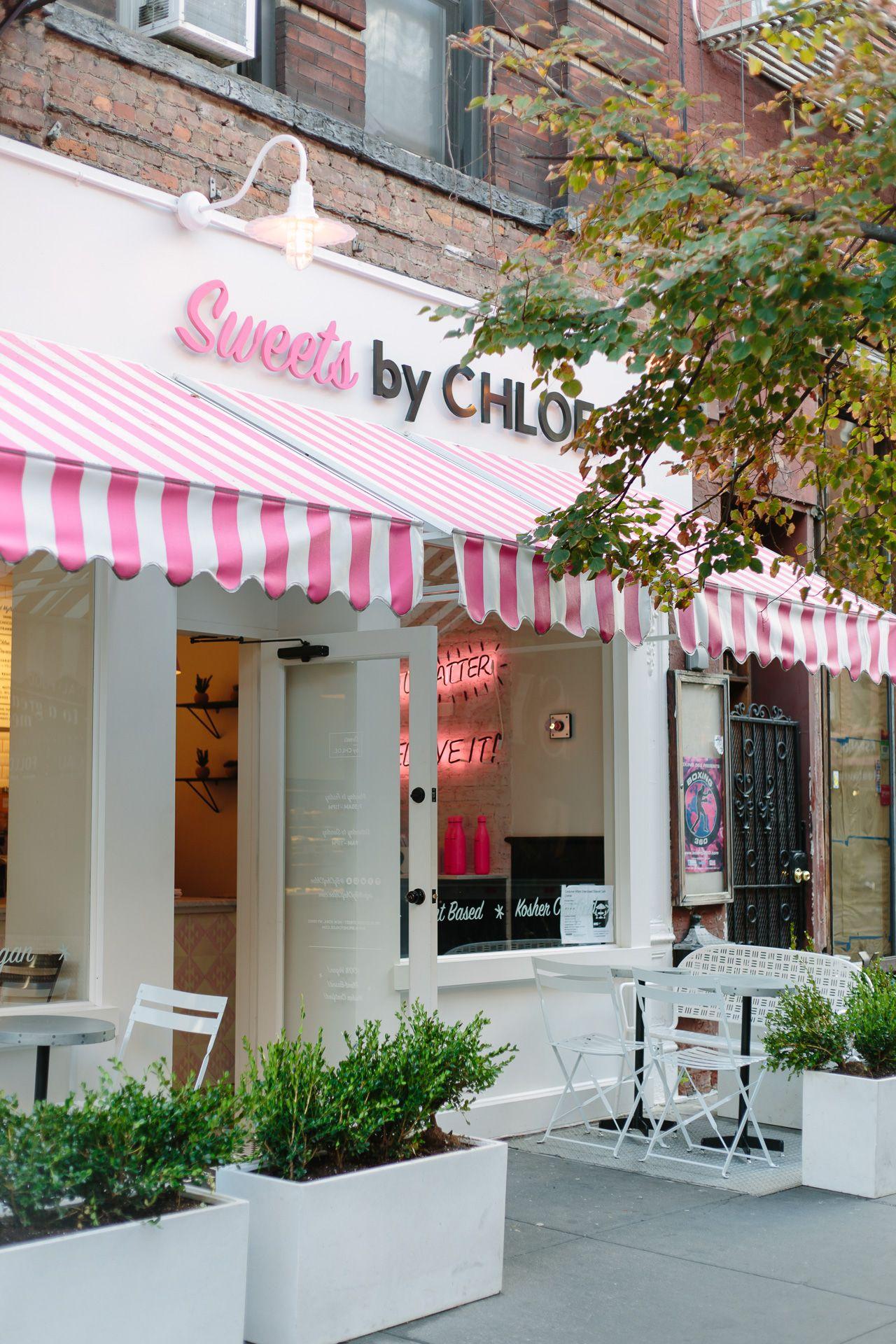 Nyc Guide Sweets By Chloe Diseno De Cafeteria Restaurantes Tiendas