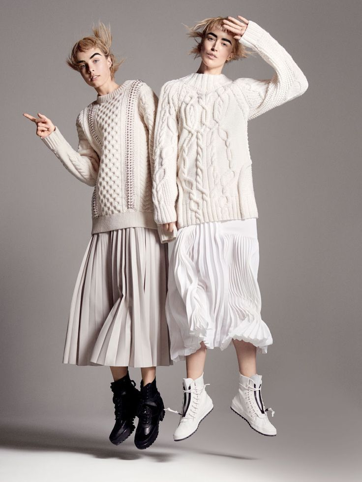 knitGrandeur®: Winter Whites