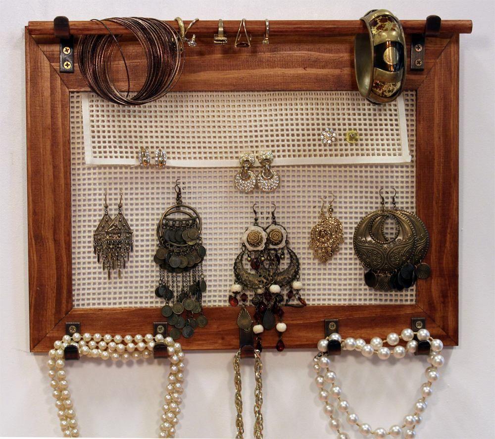 Organizador De Accesorios Y Bijouterie Manos A La Obra  # Muebles Para Bijou
