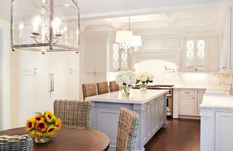 cocina con muebles blanco - Buscar con Google Cocinas Pinterest
