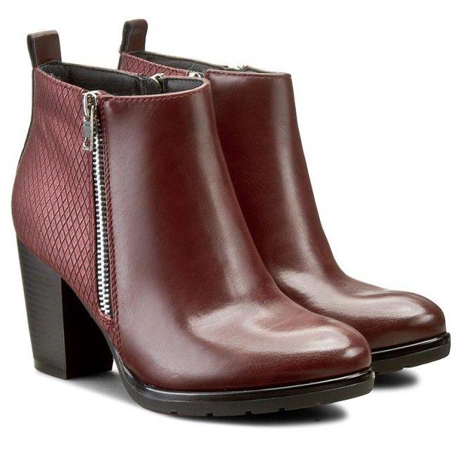 Magasított cipő JENNY FAIRY - W16AW475-1 Bordó  088177a0b9