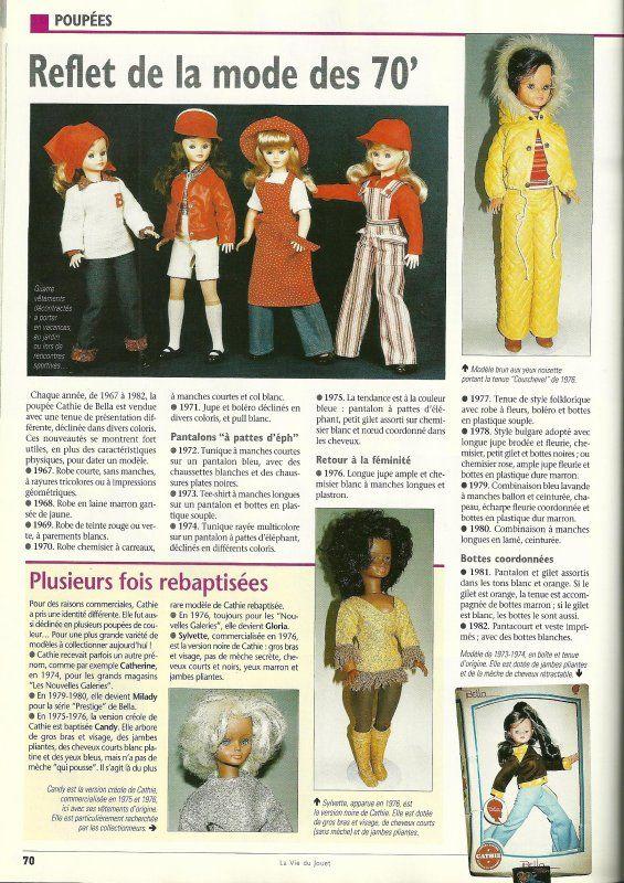 Combinaison Présentation 1981 Autres Pour Cathie De Bella Poupées Mannequins, Mini