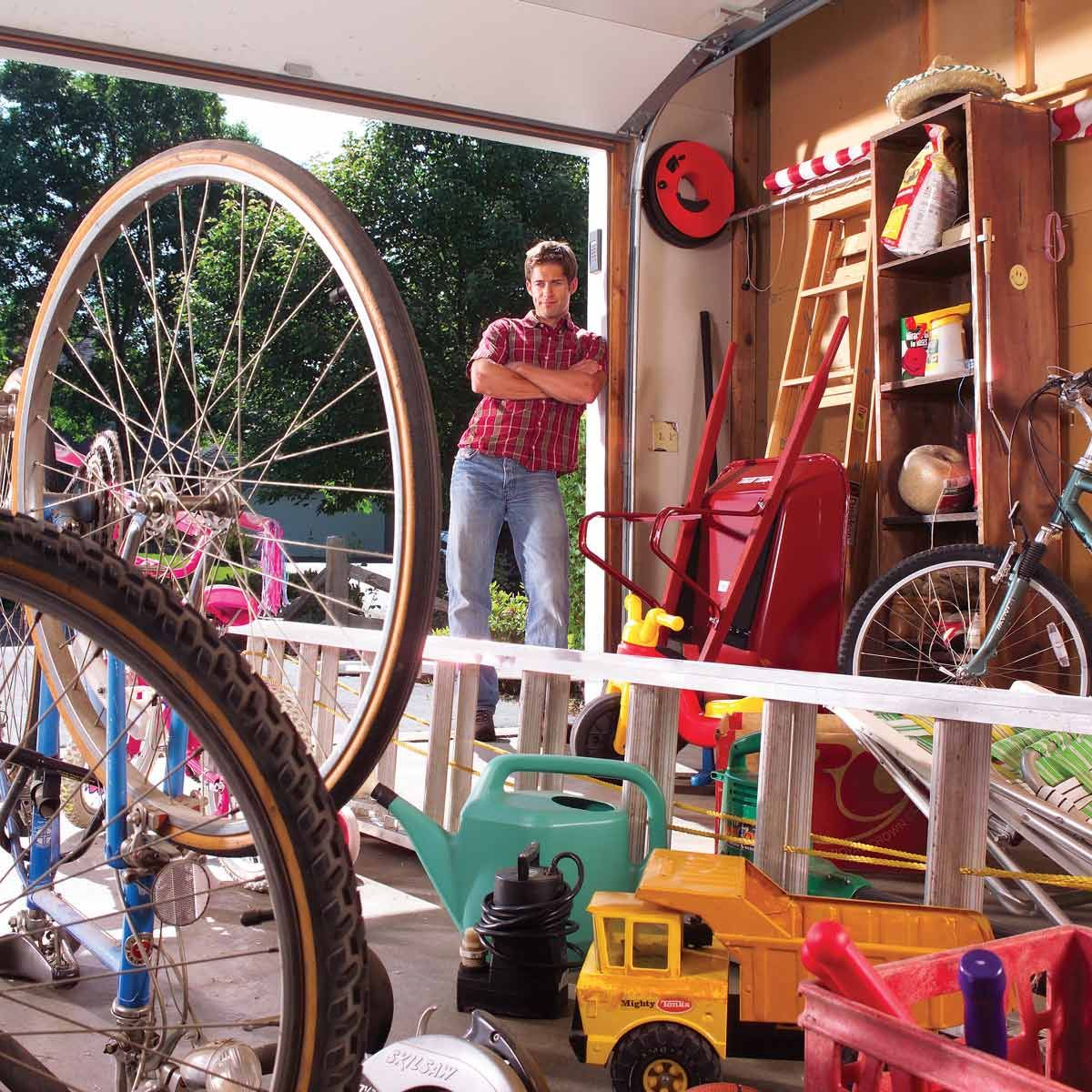 hight resolution of transform your garage into a room by adding wiring insulation and wall covering a finished garage can become a workshop mechanic s space play space or e