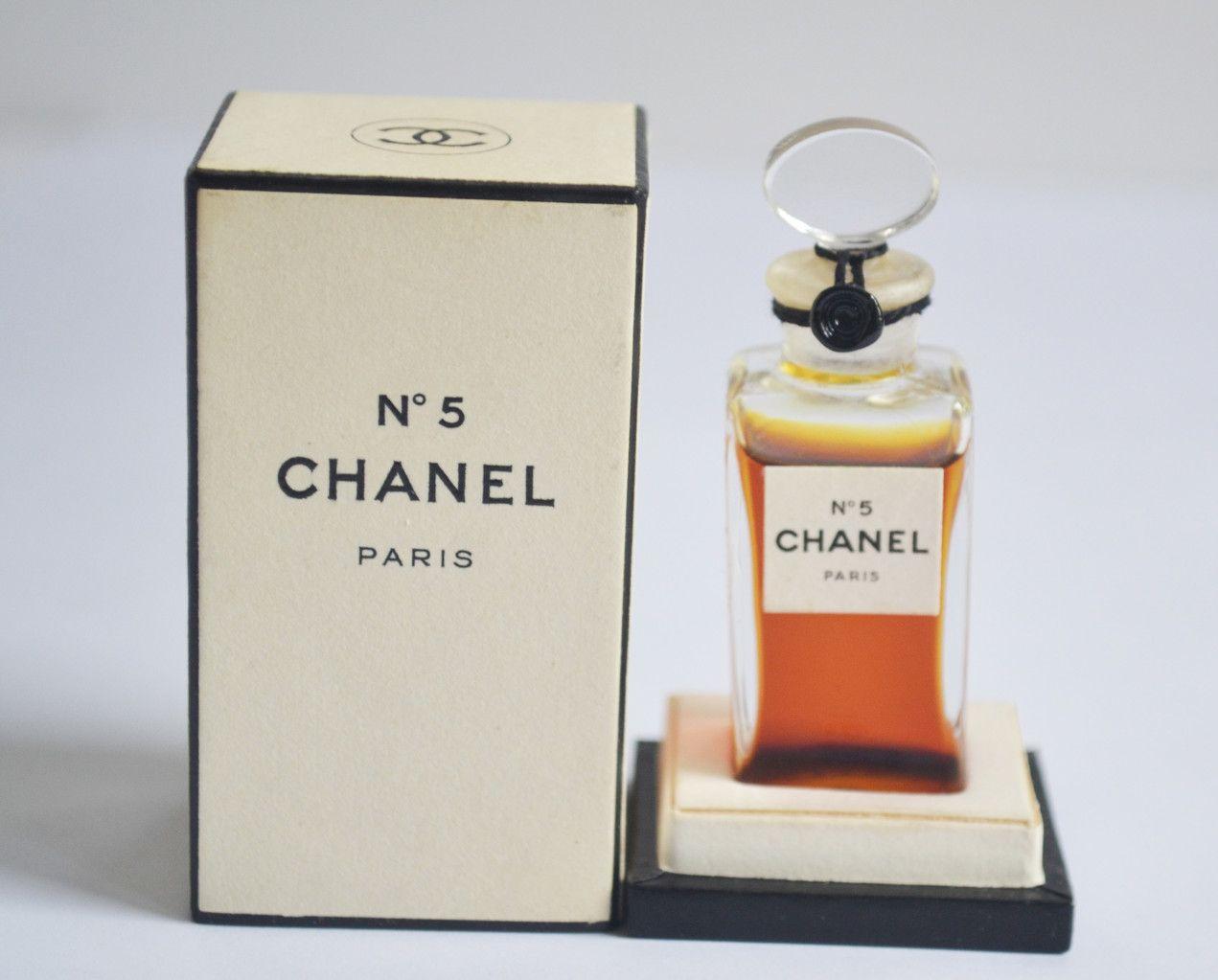 Chanel No 5 Perfume Extrait No 201 In 2019 Vintage Perfumes