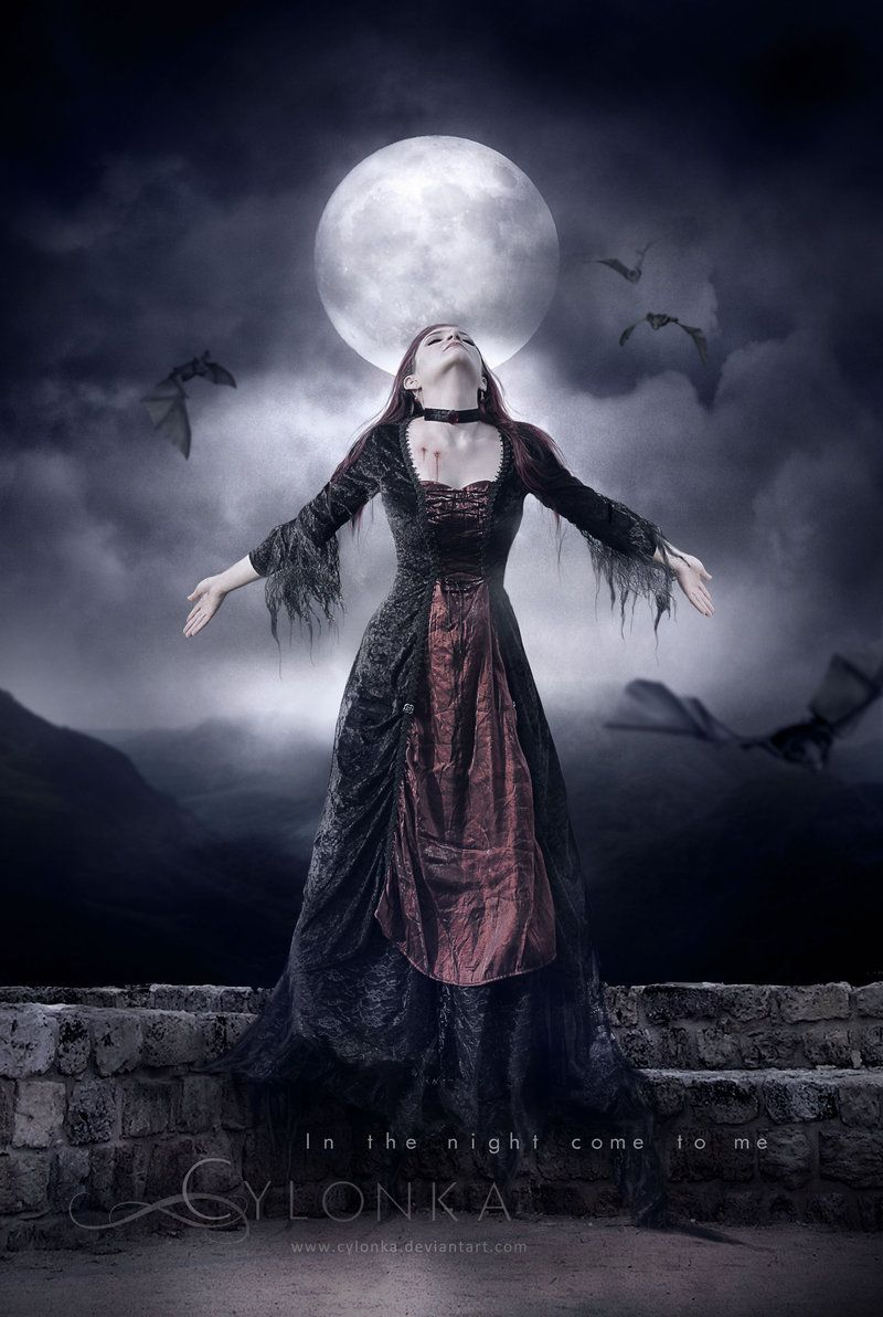 In the night come to me by cylonka on deviantART