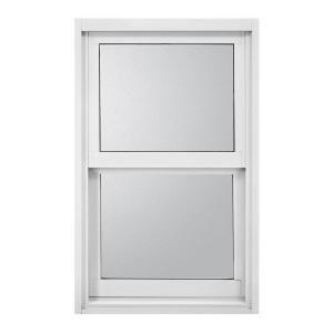 Jeld Wen Premium Atlantic Single Hung Aluminum Windows 26 1 2 In X 38 3 8 In White Impactgard Obscure Glass 353005 At Th Aluminium Windows Jeld Wen Windows