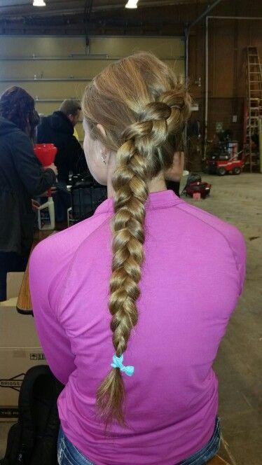 French Dutch braid