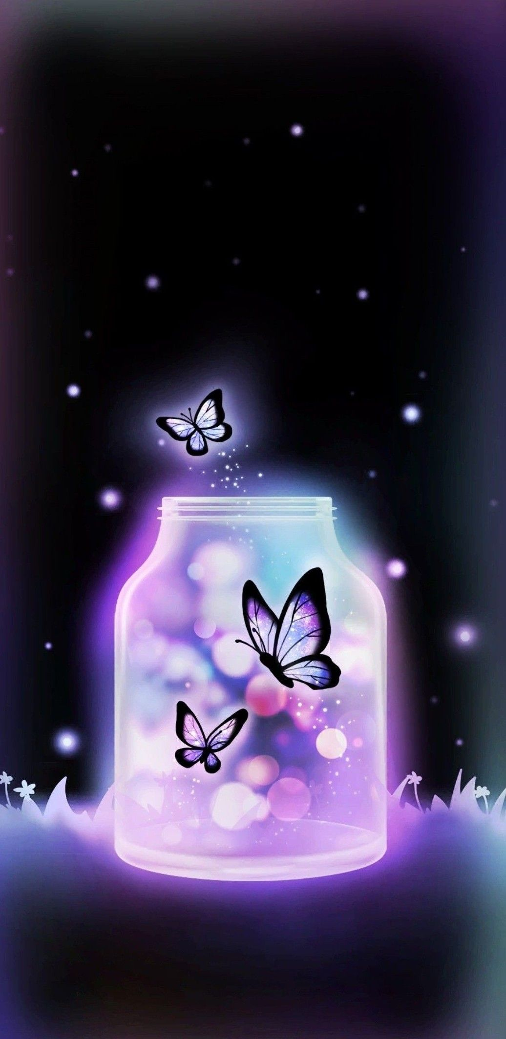 Pin by Fay on Abend/gute Nacht   Butterfly wallpaper ...
