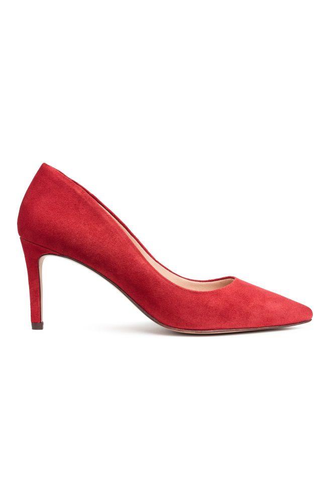 Chaussures Rouges Avec Talon Aiguille Pour Les Femmes rwnuym7WPG