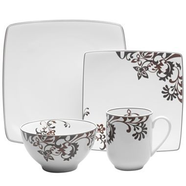 GB by Mikasa® Chocolate Swirl Dinnerware Collection - I have wanted ...