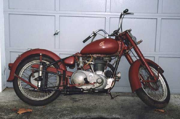 1949 Indian Arrow Motorcycle Indian Motorcycle Motorcycle Indian Arrows