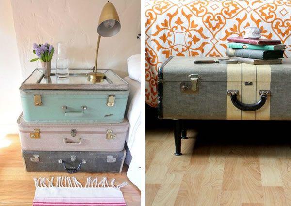 ma valise vintage j 39 en fais quoi en 2018 diy pinterest valise vintage valises et. Black Bedroom Furniture Sets. Home Design Ideas