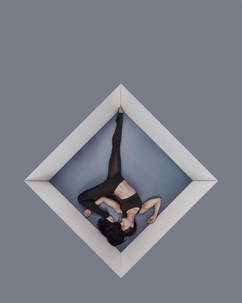 Theorem by R McCormick  Model: @lakotaelise  #themorem #geometry #circus #model #art #fitness #londo...
