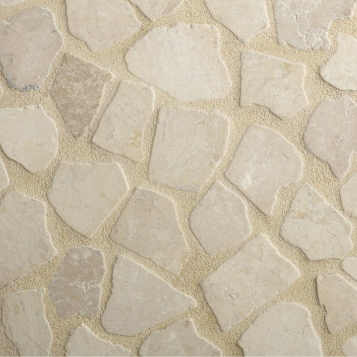 Terrasse Choisir Les Pierres Naturelles Beige Tile Floor Flooring