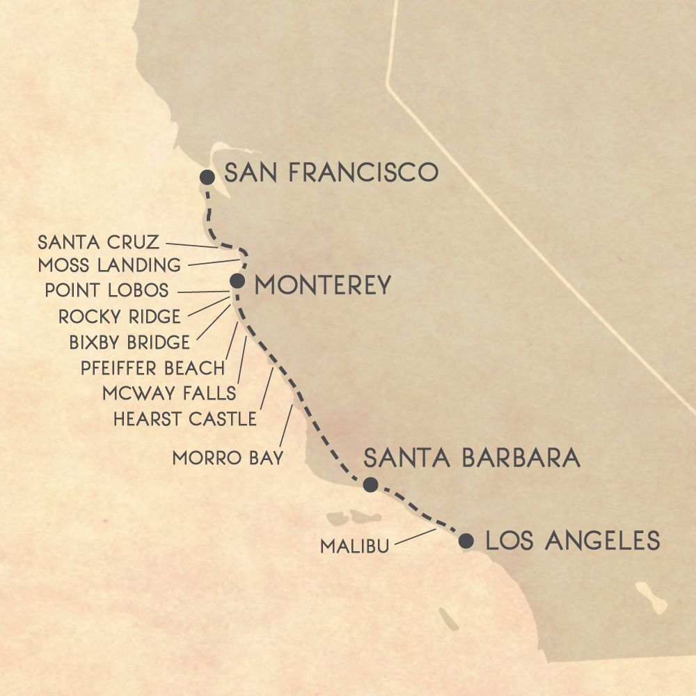 Image result for big sur itinerary