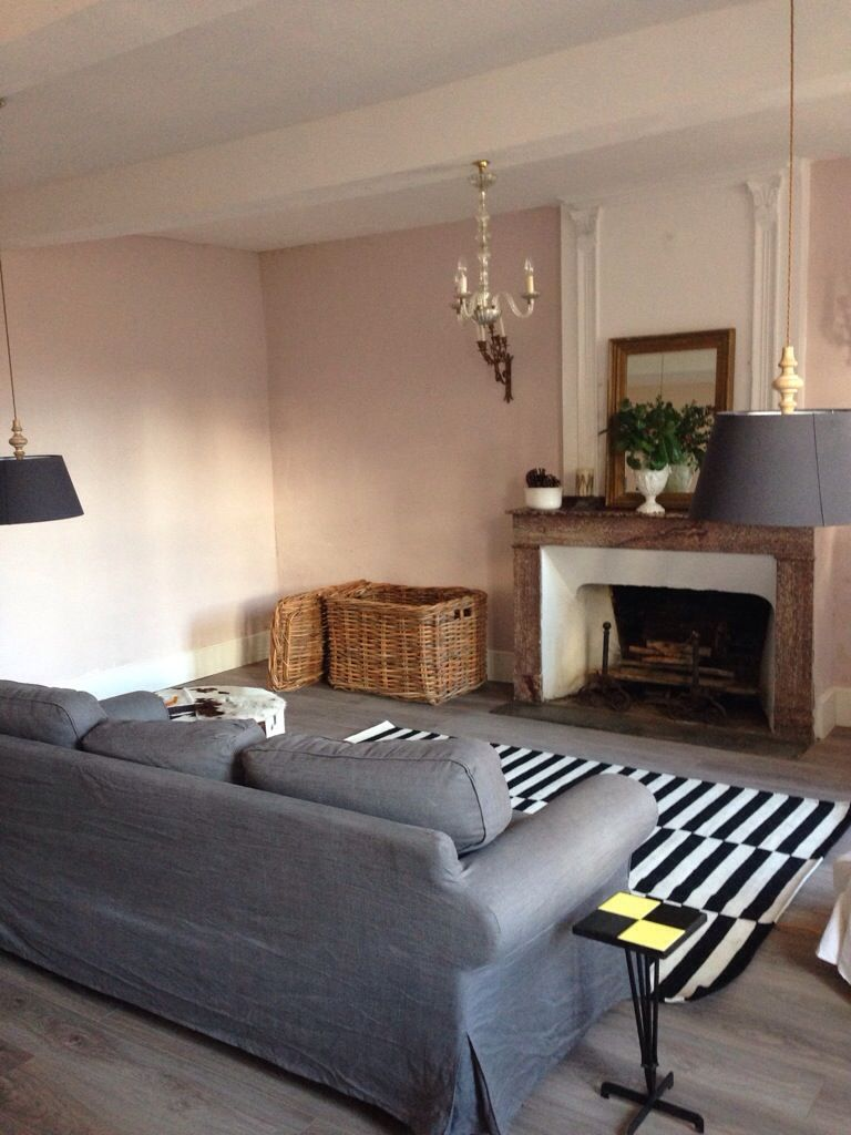 New Sitting Room Makeover Pics Pink Living Room Living Room Lounge Farrow And Ball Living Room