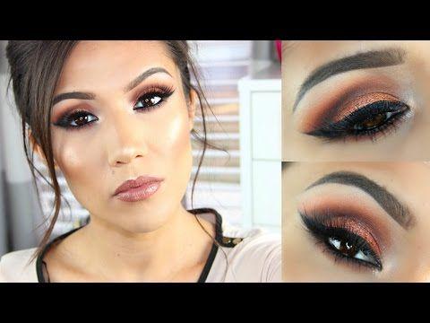Morphe 35o Palette Makeup Tutorial Makeup Tutorials Youtube Makeup Tutorial Makeup Hacks Tutorials