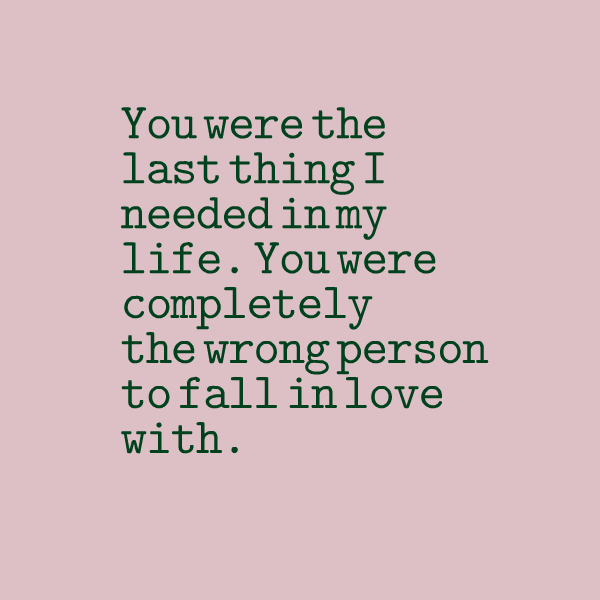 50+ Great Falling Loving The Wrong Person Quotes - Paulcong
