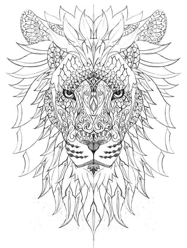 4934e125c22fefe6e7e315783fa179c8 Jpg 600 797 Pikselia Lion Coloring Pages Mandala Coloring Pages Mandala Coloring