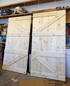 Ziehharmonika türen  How to make Barn Door | Barn Doors | Pinterest | Türen ...