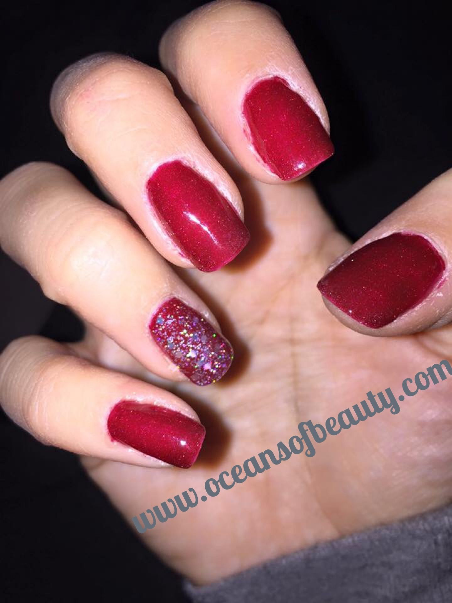 Crystal Clear. This customer used it over regular nail polish. EZdip ...