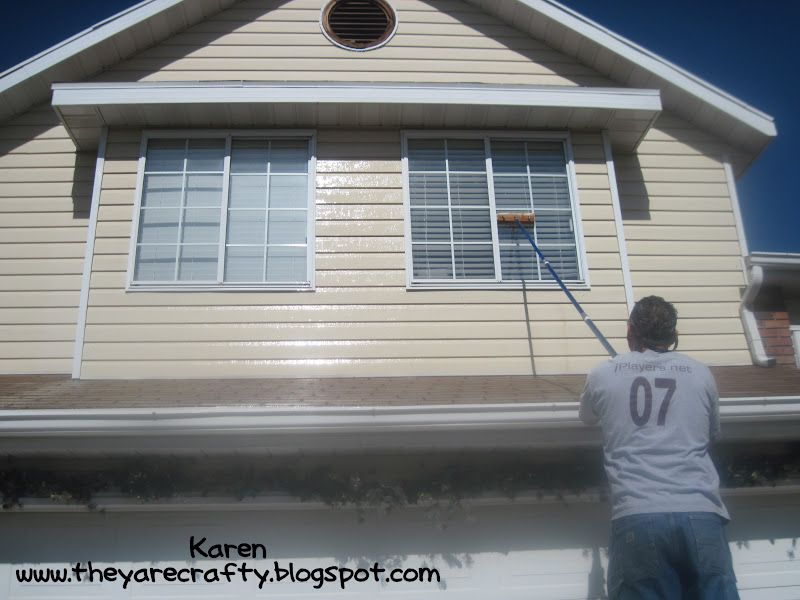 They Are Crafty Cleaning Outside Windows With No Streaking Cleaning Pinterest Crafty