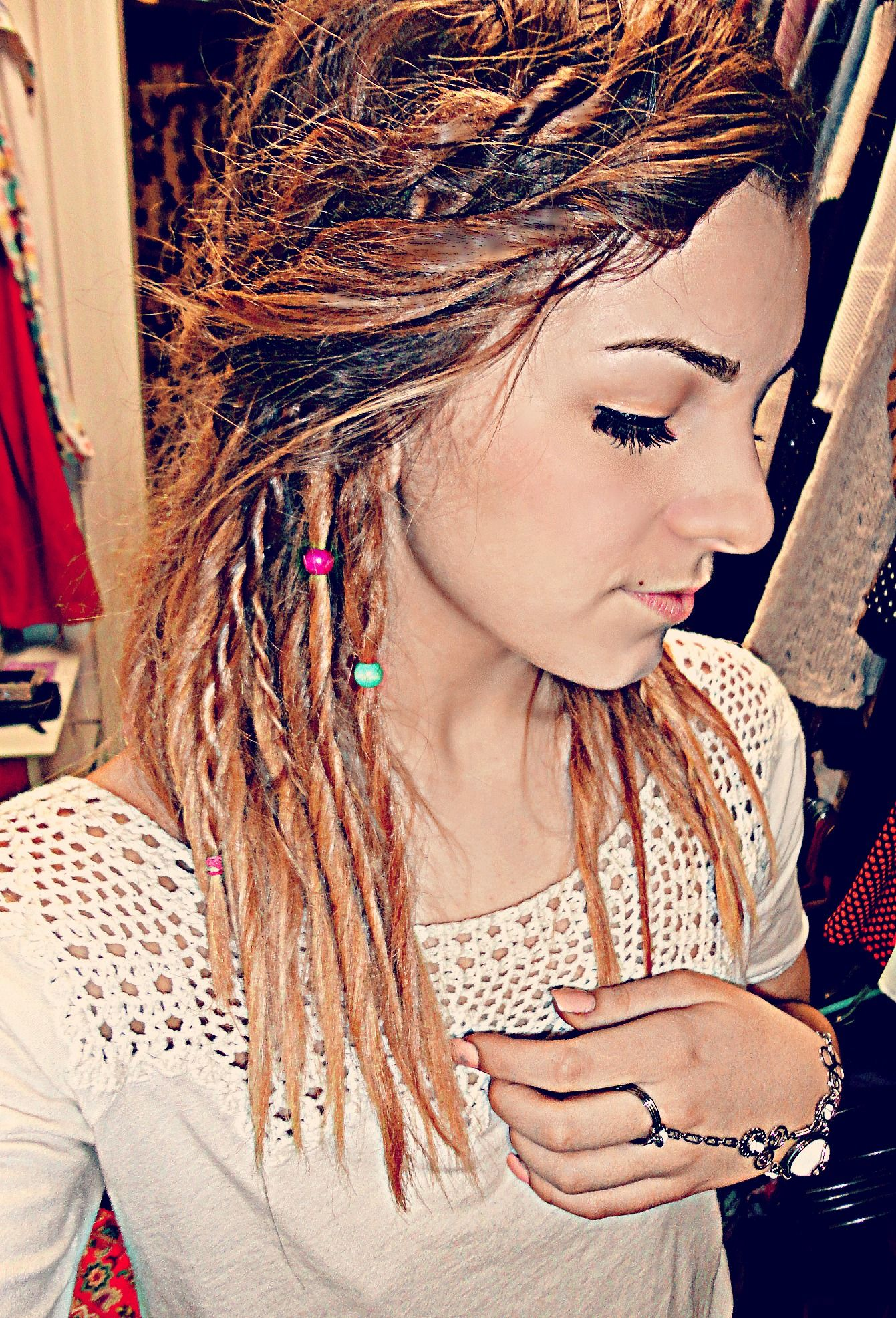 Pin by Taylor Wren Marie Holder on Hairy Potter | Temporary dreads, Simply hairstyles, Faux dreads