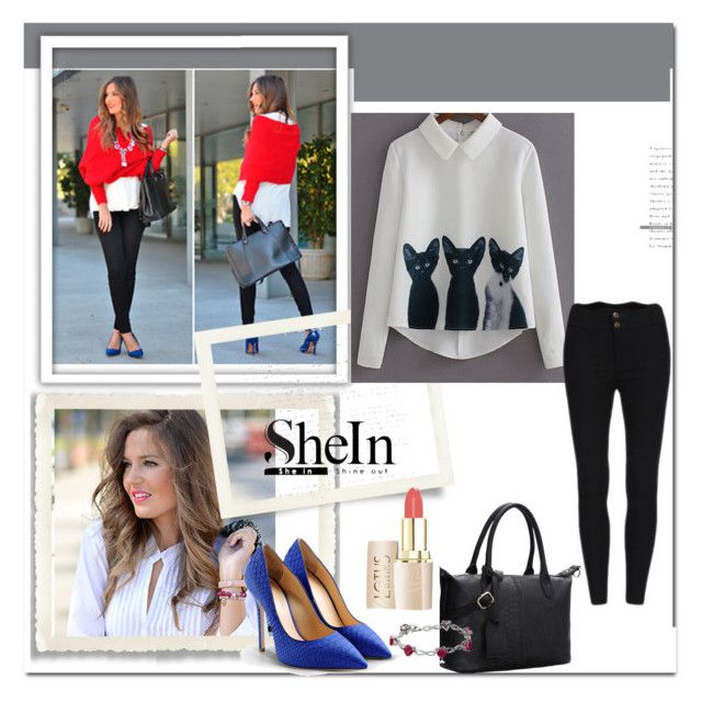 """""""SHEIN contest-PLEASE JOIN"""" by melisa-j ❤ liked on Polyvore featuring мода, Giuseppe Zanotti и shein"""