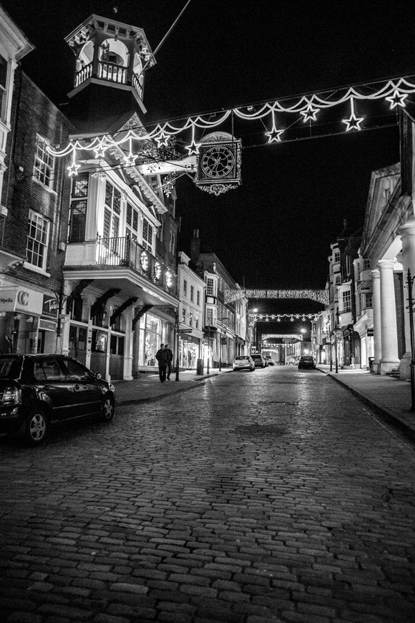 """500px / Photo """"Guildford"""" by Tom O'Donoghue The High Street on a Christmas night."""